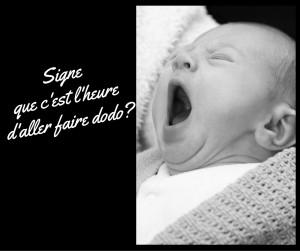 signe de fatigue chez bébé rituel du coucher pour bébé bebeblabla.fr