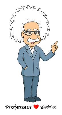 illustration du professeur Blabla