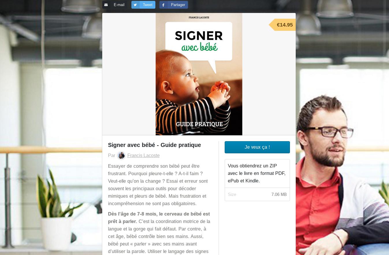 bouton je veux ça pour ebook signer avec bébé