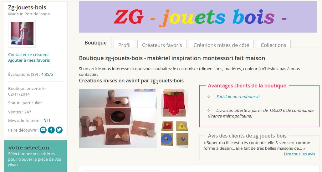 boutique ZGjouetsenbois